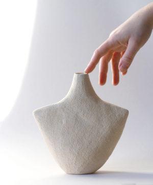 Vase Oiseau Grand Sable