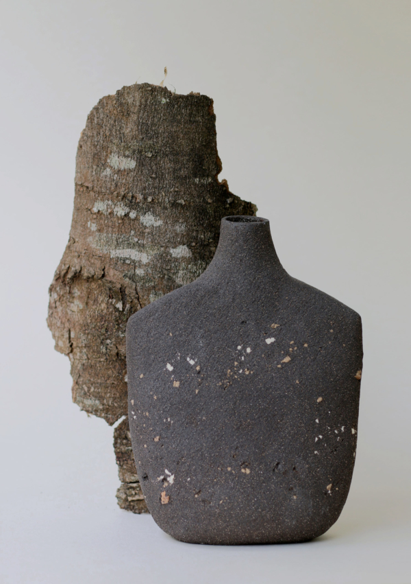 Vase Oiseau Noir Large n°13